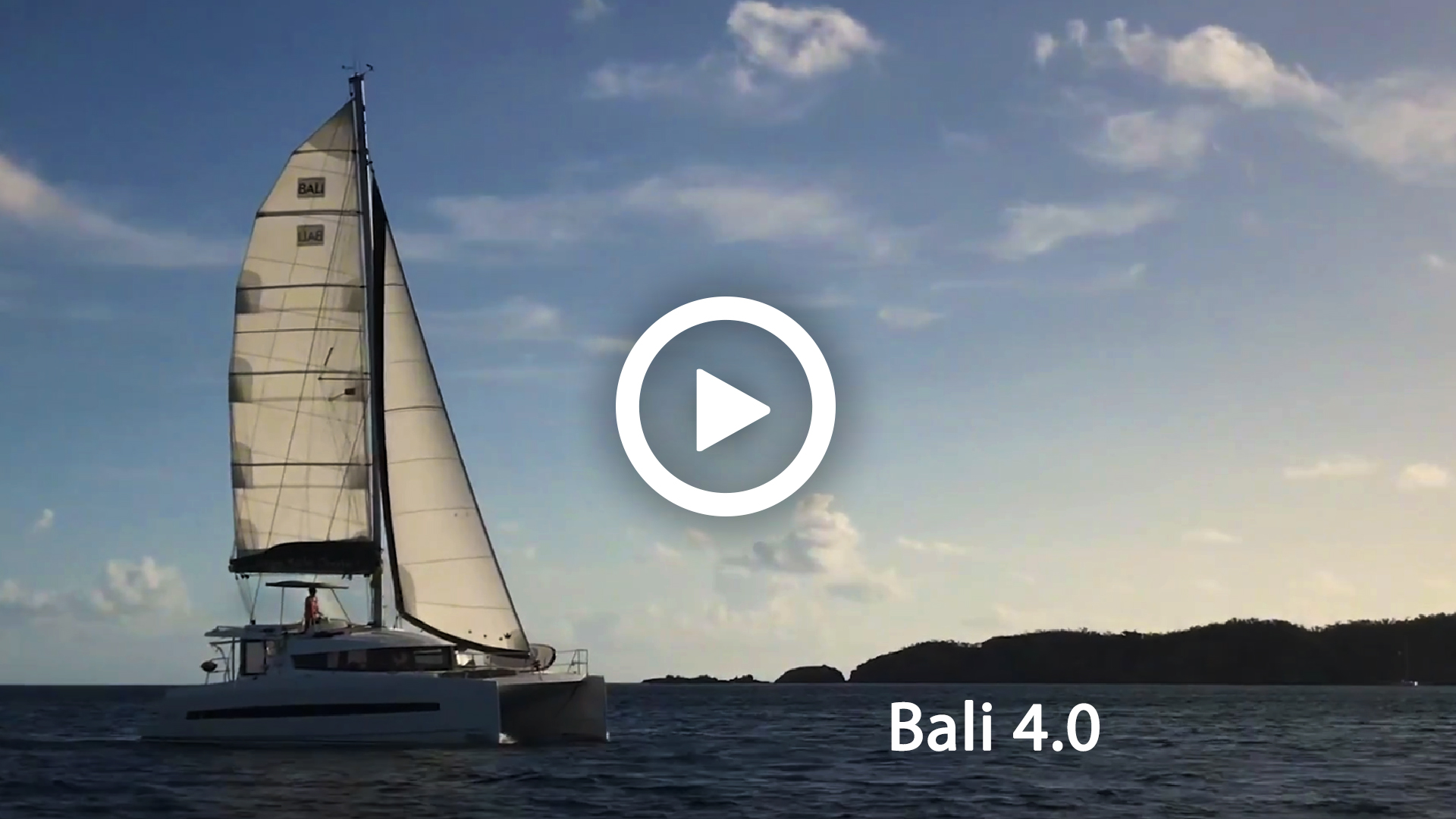 Sailing video to sale - Bali 4.0 charter to rent