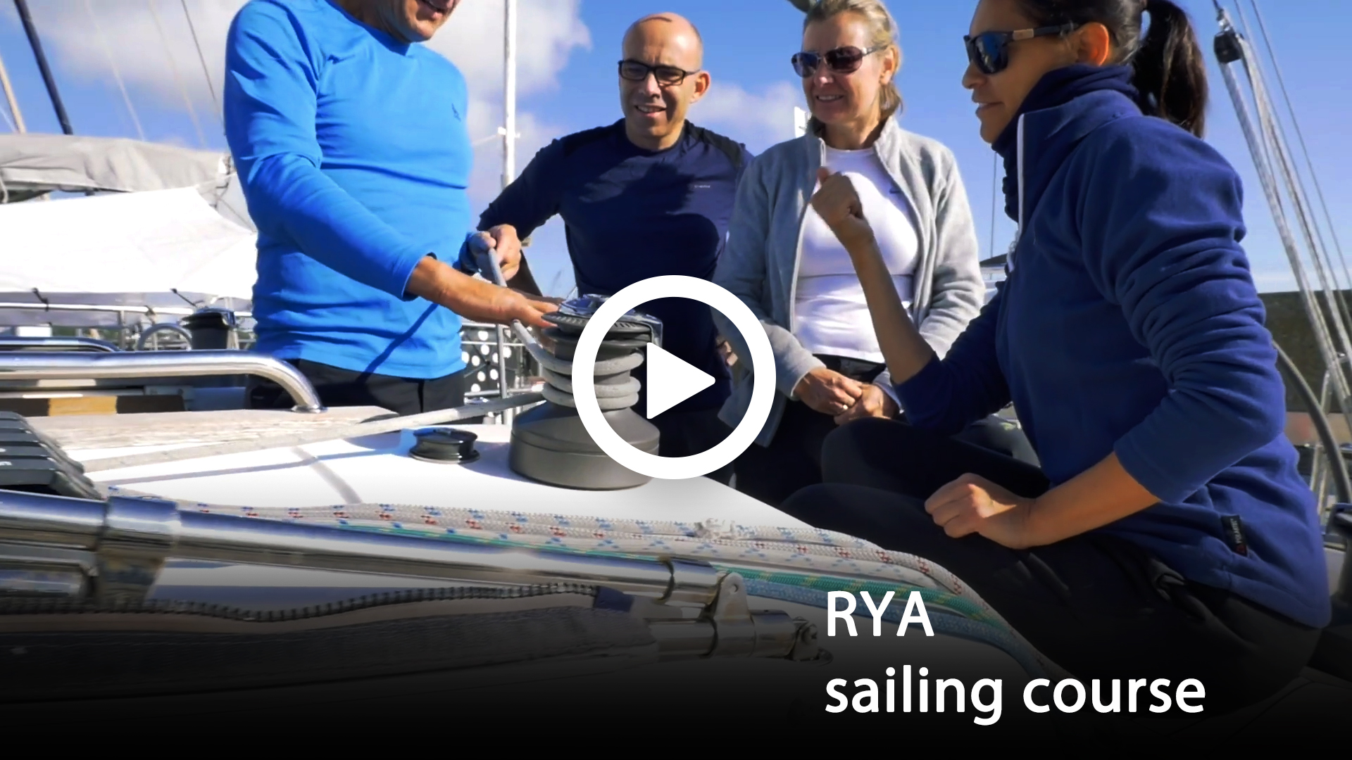 Sailing video to sale - RYA sailing course with Safe Sailing