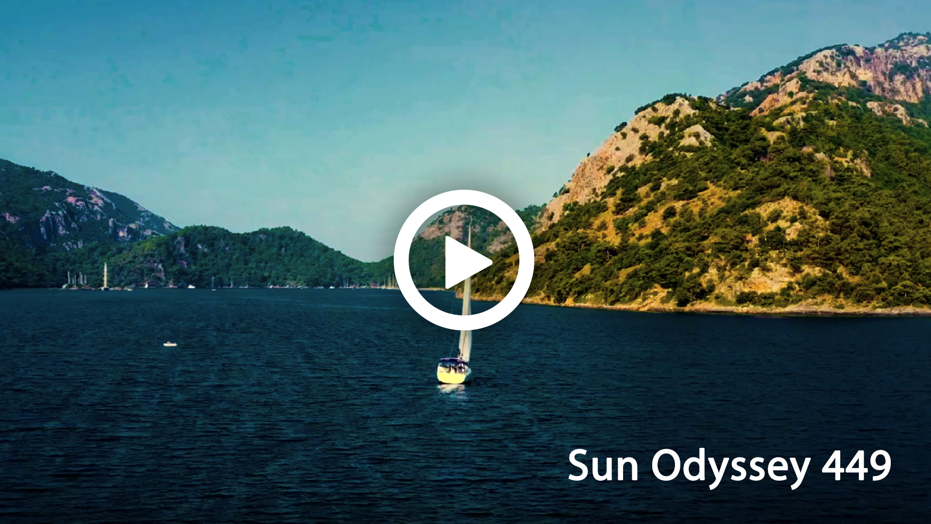Sailing video to sale - Sun Odyssey 449 to charter