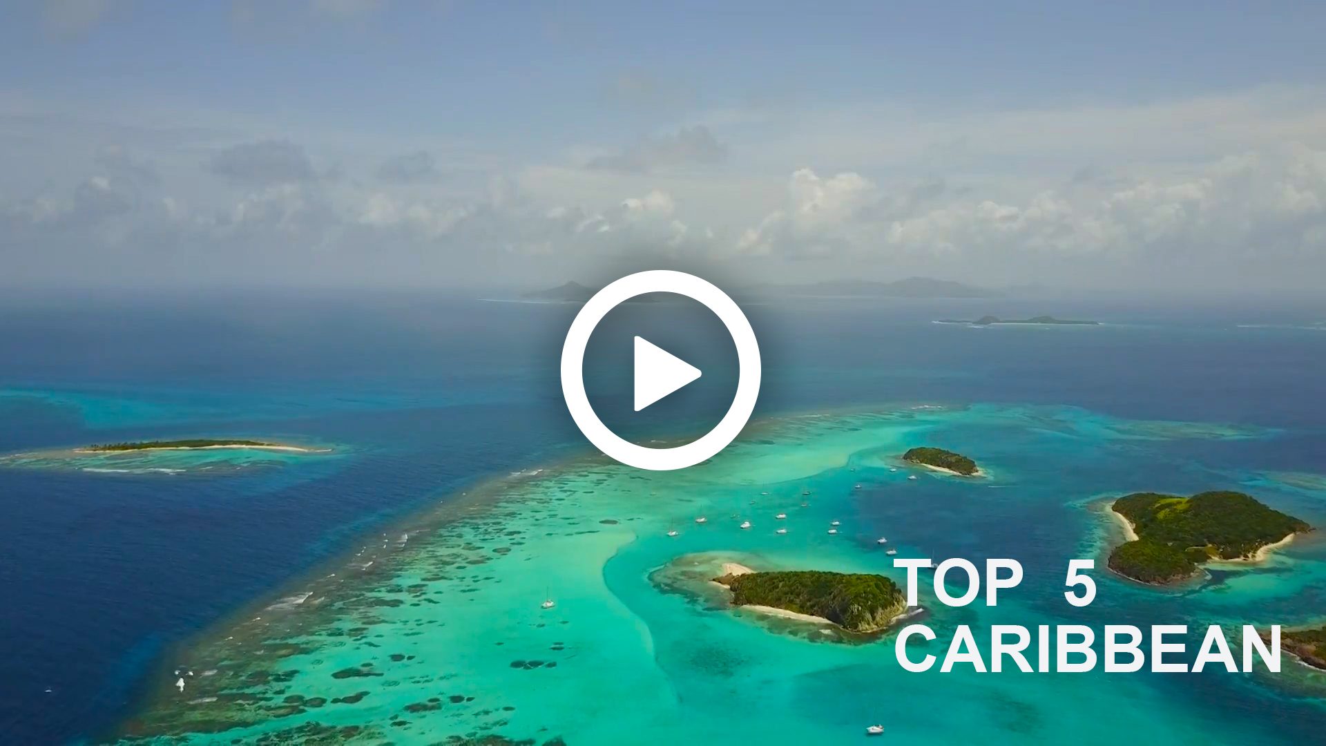 Sailing video to sale - Caribbean