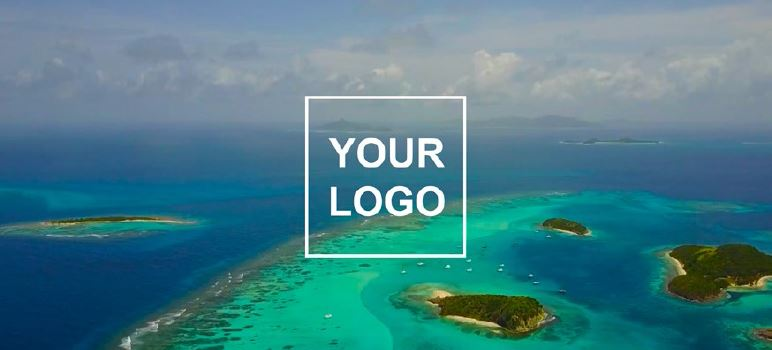 Sailing video to sale - your logo end